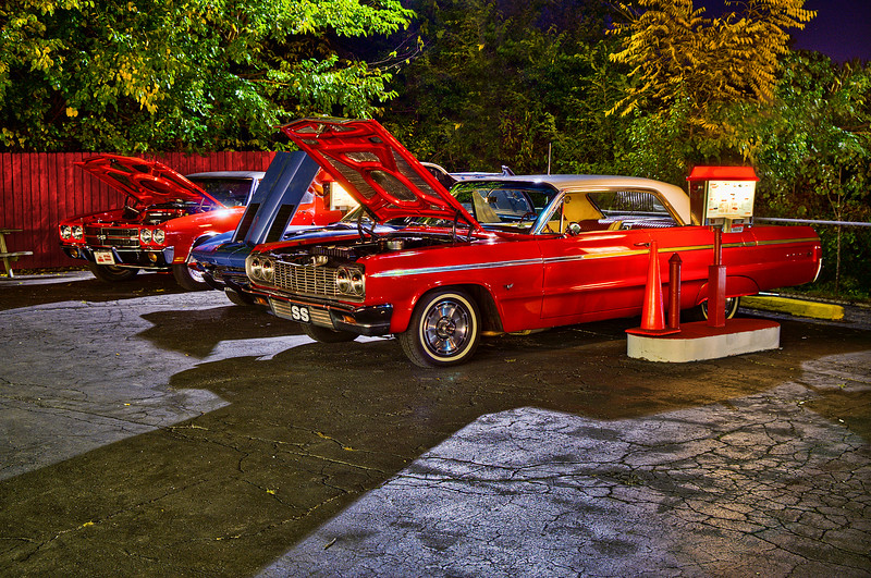 The Suds - Classic Car Hangout -  Greenwood, Indiana
