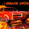 """Lemans Studios - <br /> Setting The World On Fire! - <br /> I shot the GTO at Ray Skillman's Classic Auto Museum in Greenwood, then comp'd in the type and flames.<br /> <br /> <a href=""""http://lemansstudios.smugmug.com/Design"""">http://lemansstudios.smugmug.com/Design</a>"""