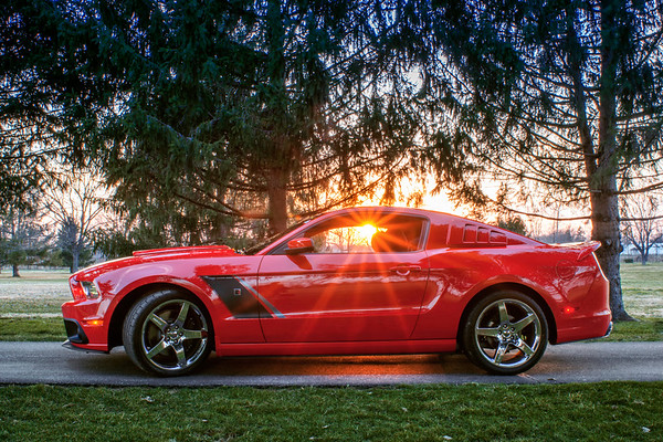 2014 Roush Mustang Aluminator