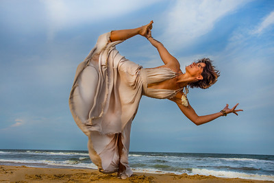 The Dancing Warrior ~ Virginia Beach, Virginia