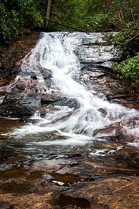 Helton Creek Falls near Blairsville, GA