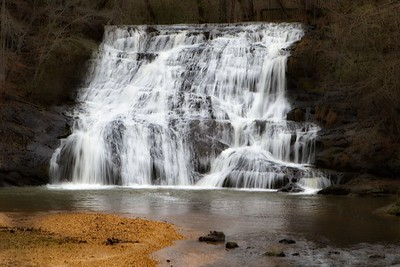 Cane Creek Falls, Camp Glisson, Dahlonega, GA