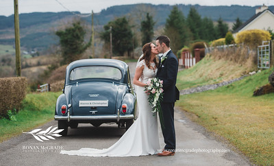 Alanna and Christopher's wedding day © Ronan McGrade/www.ronanmcgradephotography.com