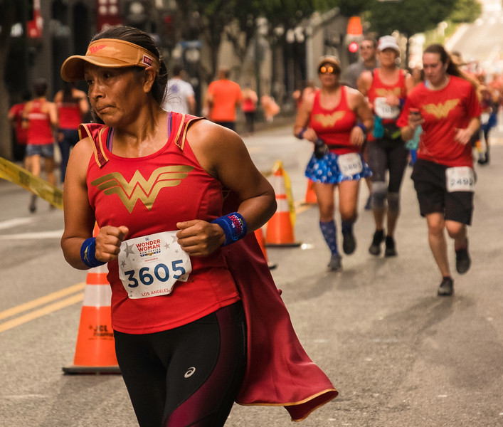 Wonder Woman Race November 2018