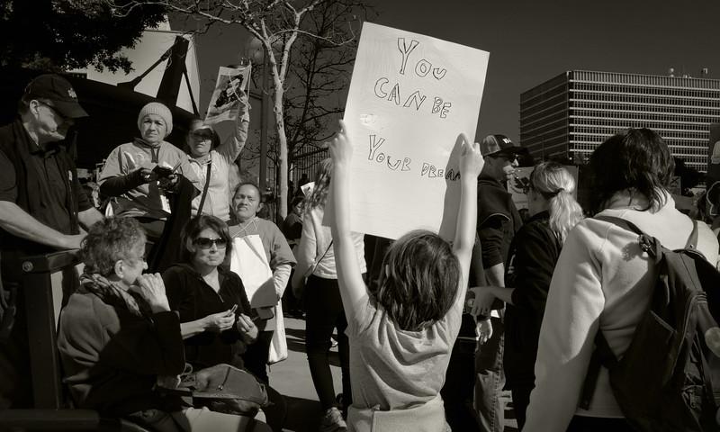 Women's March, DTLA
