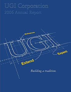 Communication Results wrote (and coordinated photography) for the UGI Annual Report for 12 years.