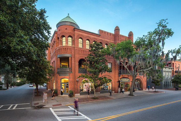 SCAD Savannah – Summer 2016 – Facilities – Poetter Hall – Exterior – Photography by Justin Chan