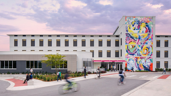 SCAD Savannah – Spring 2016 – Facilities – Montgomery Hall – Exterior – Photography by Justin Chan
