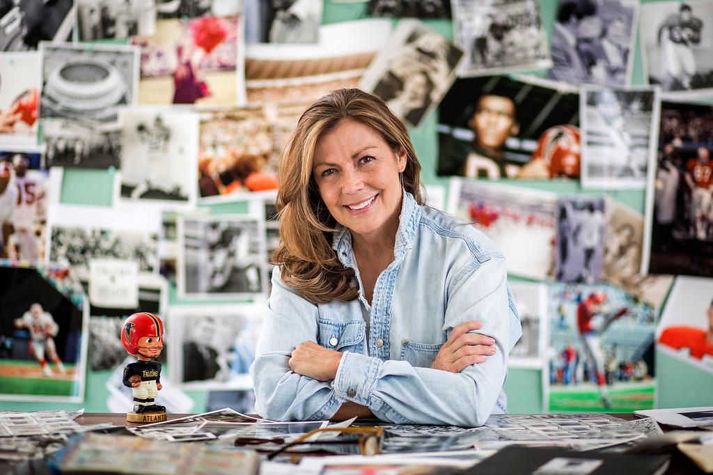 SCAD Atlanta – Winter 2017 – Presidential Initiatives – Atlanta Falcons Project – Artist Portraits – Sandee Bartowski – SHOOT LOCATION – Photography by Justin Chan