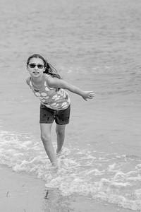 B at the Beach