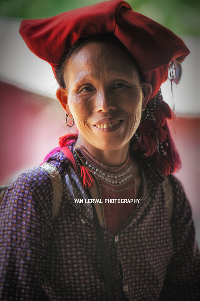 Red Dao Woman, Vietnam