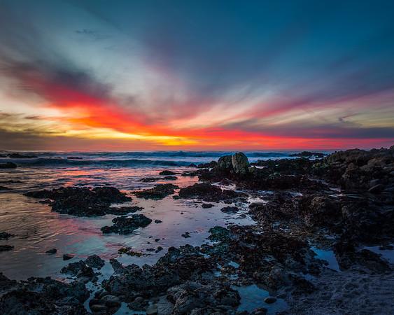 Carmel Shorline Sunset 2018 - 0082-HDR