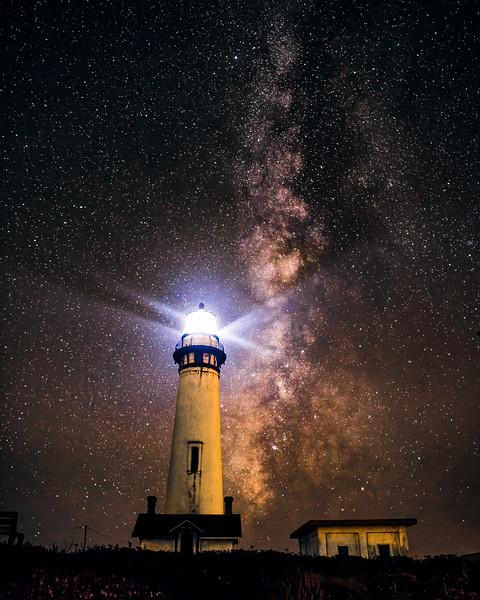 Pidgeon Point Lighthouse, Pescadero, CA