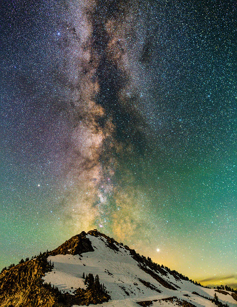Watchman's Peak, Crater Lake, Oregon