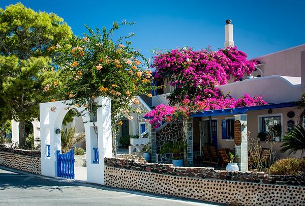 Hotel in Santorini, Aegean Sea, Greece
