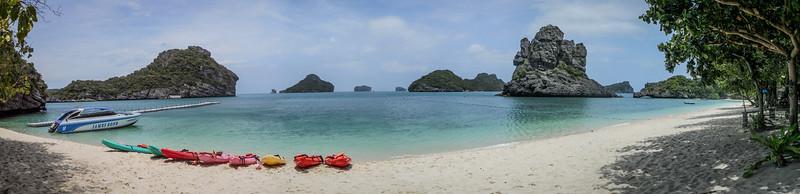Thai Beach, Small Island off of Koh Samui, Thailand