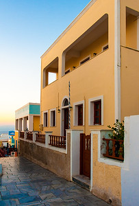 Oia Street Scene, Oia, Santorini, Aegean Sea, Greece