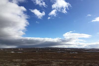Fjällplatå norr om Komagvær