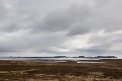 Vy över Vardø