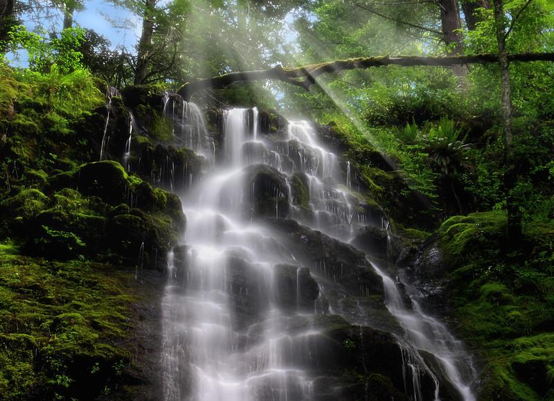 Davis Mountain Falls