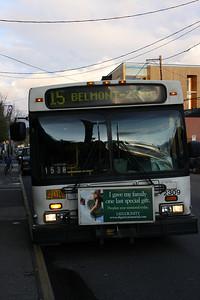 Bus 15 on Belmont