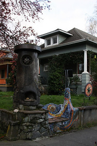 Just off of Hawthorne, street additions.