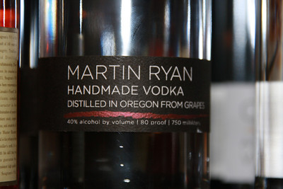 Martin Ryan Handmade Vodka