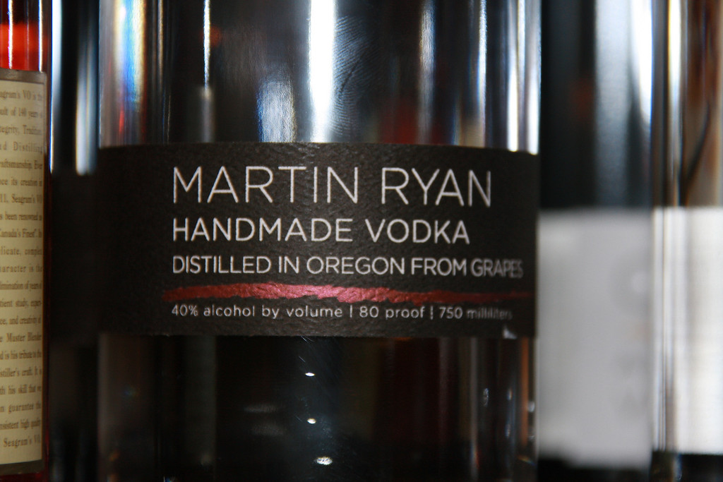 Martin Ryan Handmade Vodka