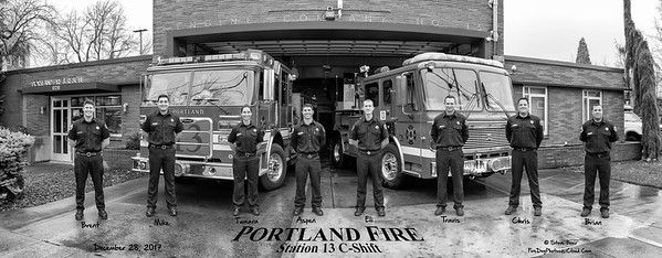 Portland, OR Fire Department Station 13 C-Shift