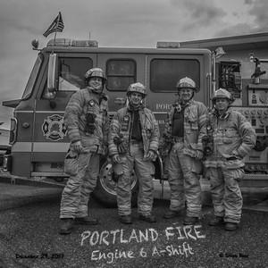 Portland Fire Station 6 A-Shift