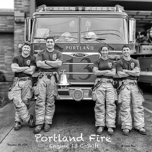 Portland Fire, Engine 13 C-Shift
