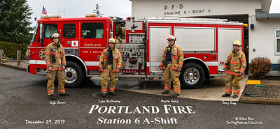 Portland Fire Department, Station 6 A-Shift