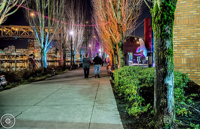 Portland Light Festival © Geoffrey Squier Silver, All Rights Reserved.