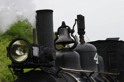 Steam Engine in the Rain