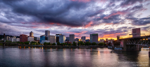 Portland at Sunset