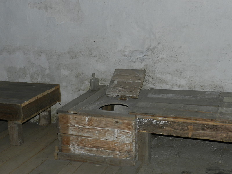 Potty  in old jail