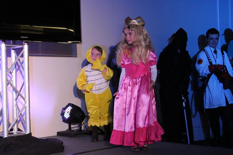 Paratroopa and Princess Peach