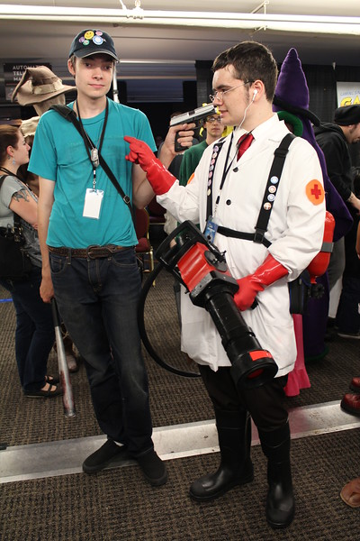 Scout and Medic