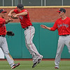 Mitch Dening is just too much fun for this outfield.