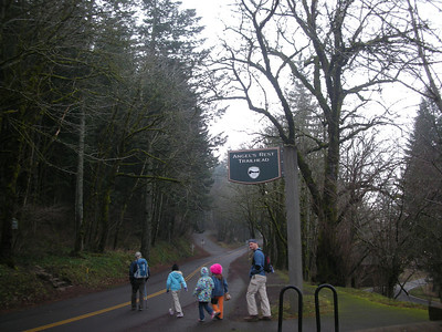 Angel's Rest Trail Dec.