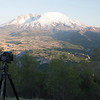 Timelapse setup at Mt Saint Helens
