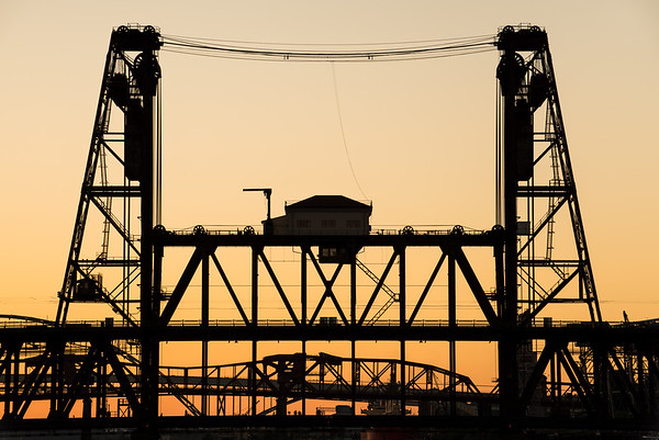Steel Bridge Sunset