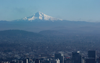 Mt. Hood from Pittock Mansion