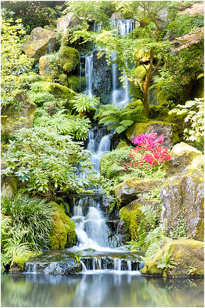 Heavenly Falls, Portland Japanese Garden