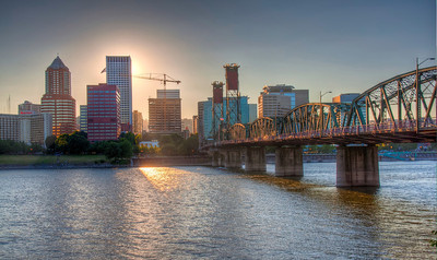 downtown-portland-river-bridge
