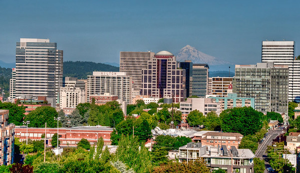 downtown-portland-mt-hood
