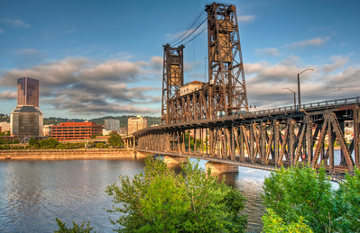 portland-river-bridge-hdr