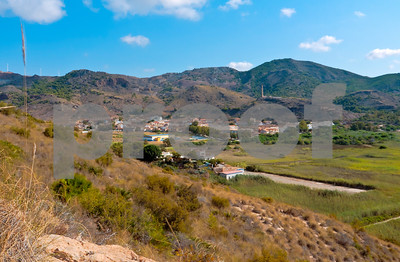 View of Portmán village, 29th July 2011