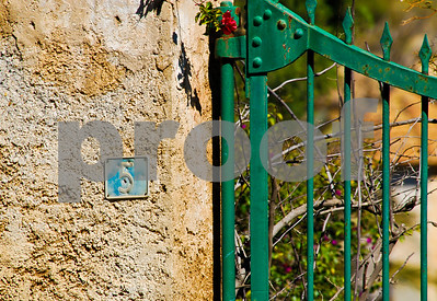Rustic gate in Potrtmán, Murcia, Spain