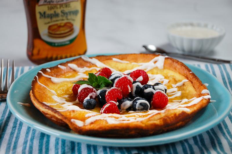 Maple Puff Pancake